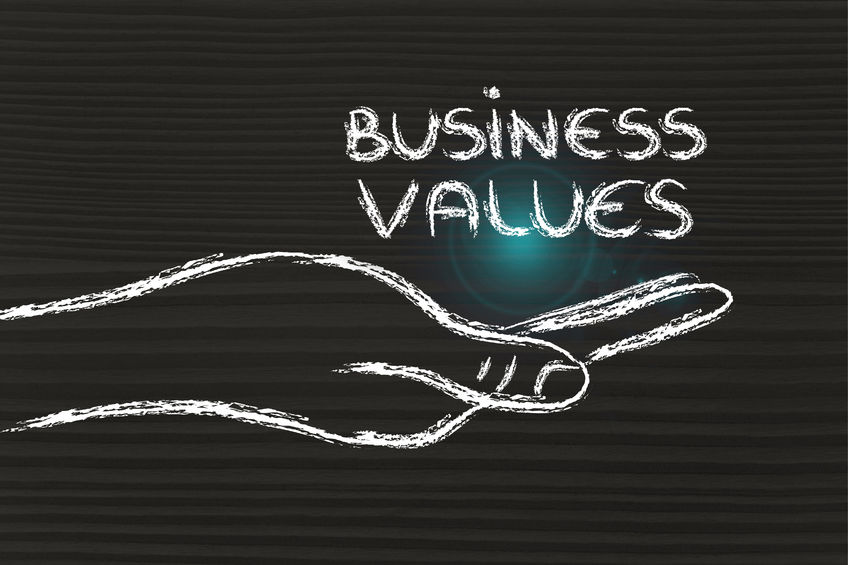 Defining Core Values For Business Visions To Excellence